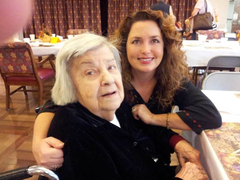 Jaime and her Grandmother, Elma