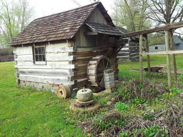 Grist Mill like structure in Solitude Indiana