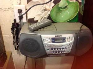 my old boom box