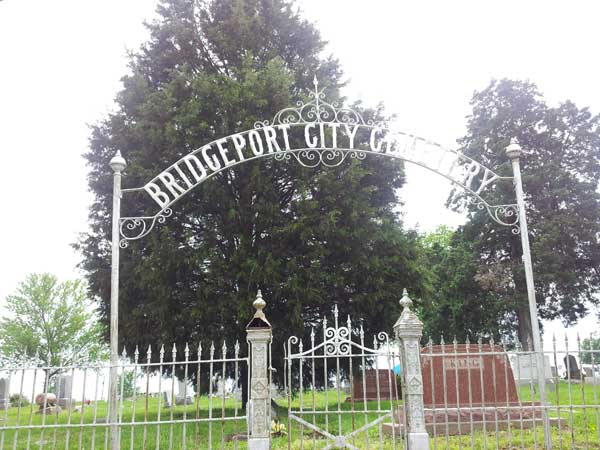 Bridgeport City Cemetary Gate