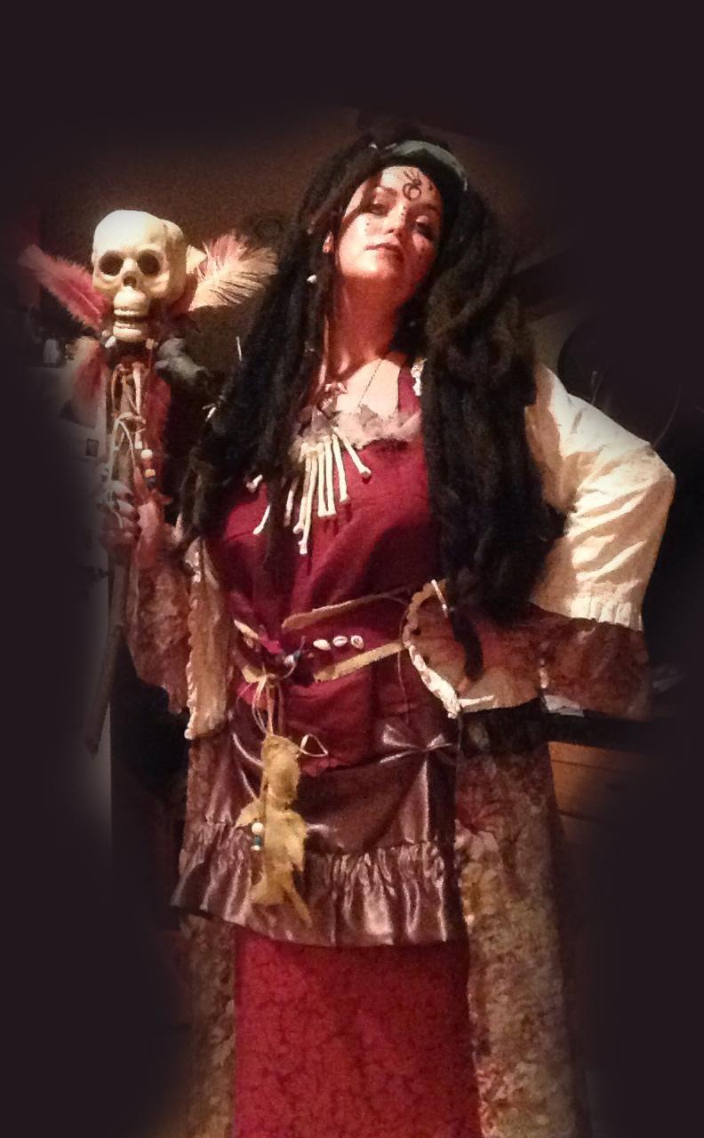 voodoo queen halloween costume - Jaime Haney Fine Art Voodoo Queen Costume