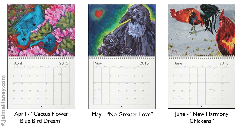 Calendar Fine Art : Wall calendar jaime haney fine art