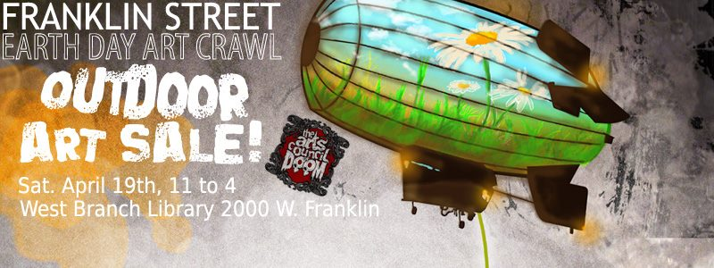 Earth Day Art Crawl Outdoor Art Show