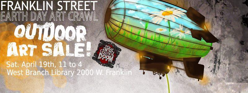 Earth Day Art Crawl Outdoor Art Show