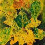 sold painting titled Autumn Bouquet