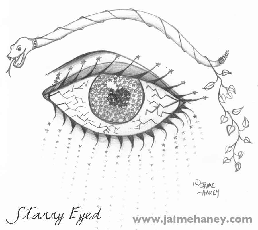 Easy Expressionism Drawing Surreal Drawing of Eye