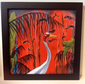 framed Cinnabar Nights of Love 1