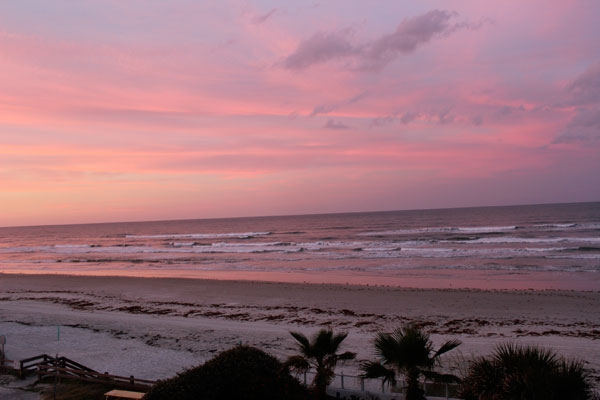 New Smyrna Beach Florida sunset