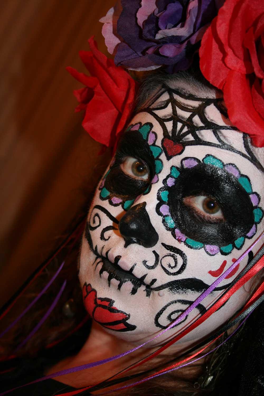 Sugar Skull Halloween Costume 2011