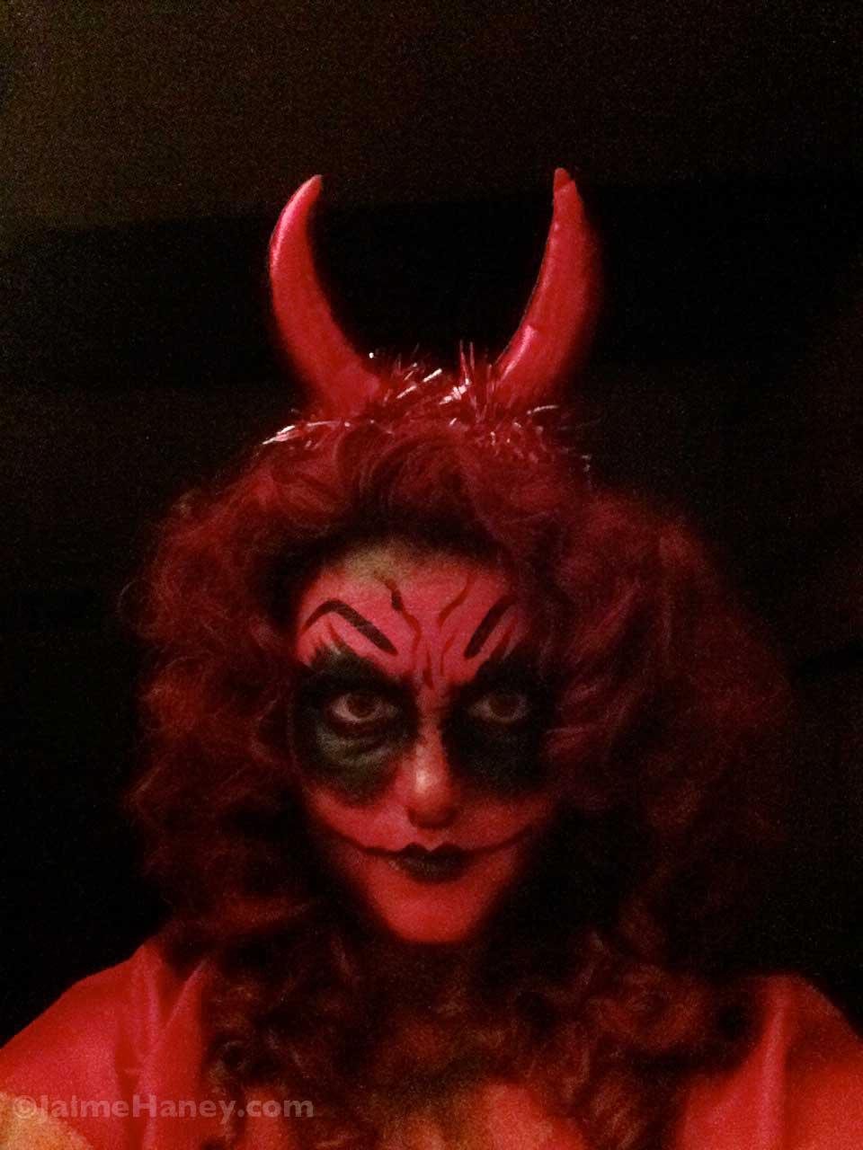 She Devil My 2014 Halloween Costume Creation Amp Tutorial Jaime Haney Fine Art