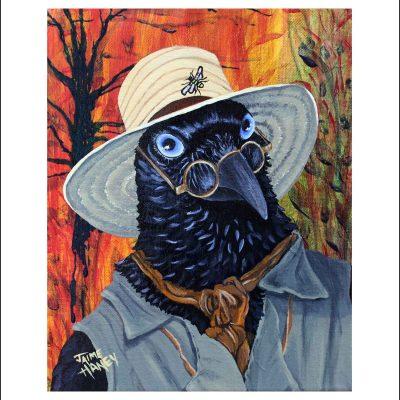 The Potter raven economy print