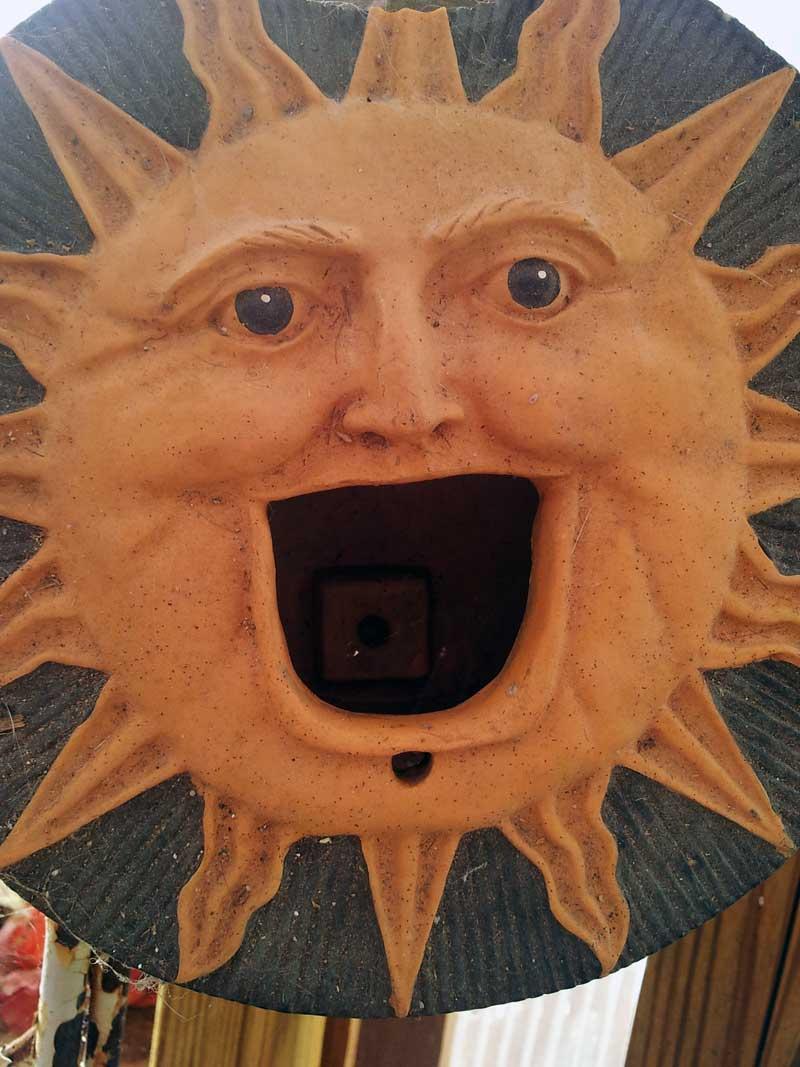sun birdhouse