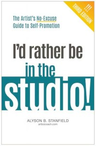 I'd rather be in the studio! book by Alyson B. Stanfield