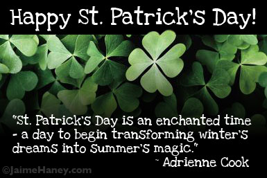 St. Patrick's Day quote