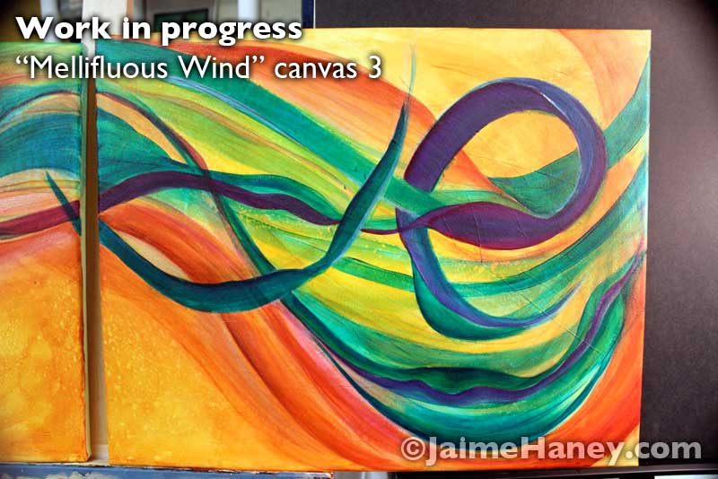 canvas 3 of Mellifluous Wind
