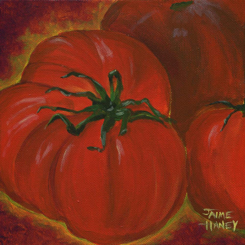 Lots Of Red Jaime Haney Fine Art