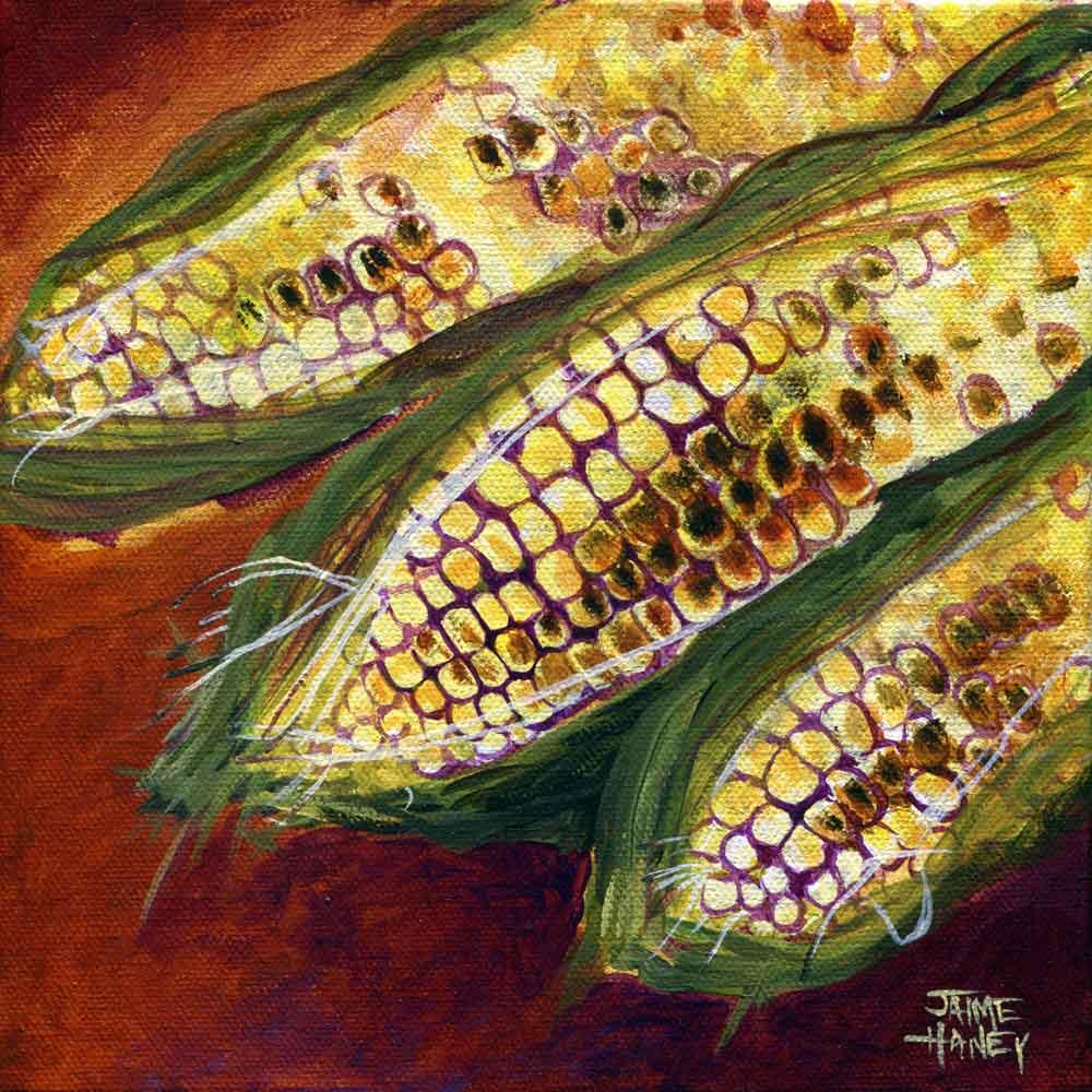 Smoky Maize Jaime Haney Fine Art