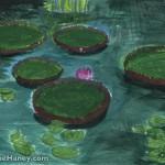 Pond painting study