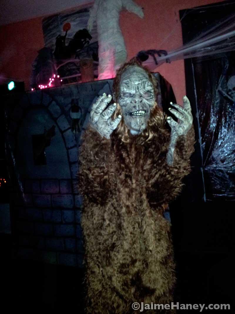 Spooky Yeti!