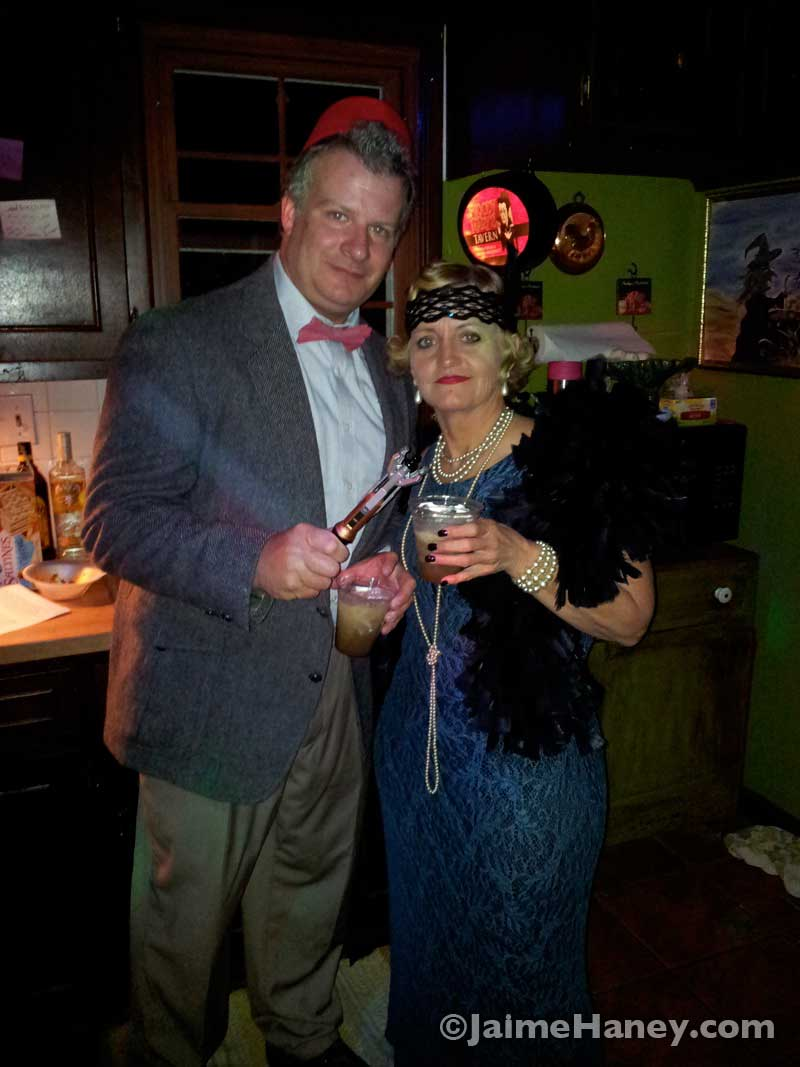 Doctor Who and a Flapper Girl