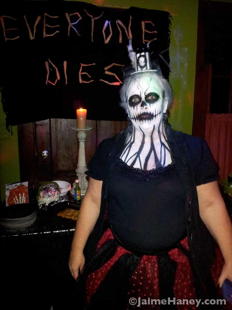Frightful Carnival Macabre - My friend Jody