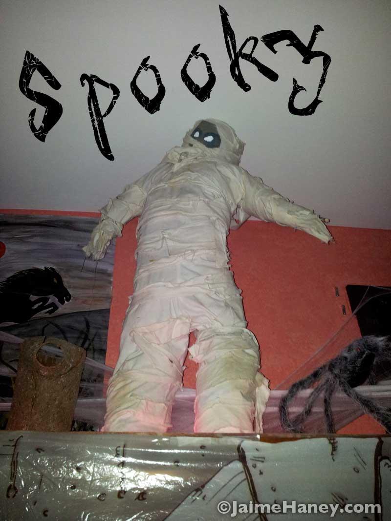 Mummy Awesome Halloween decor