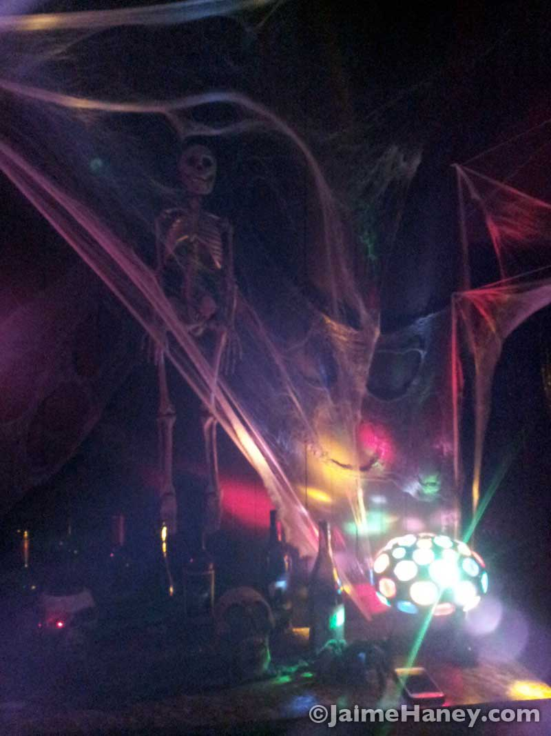 Awesome Halloween decor and party lights
