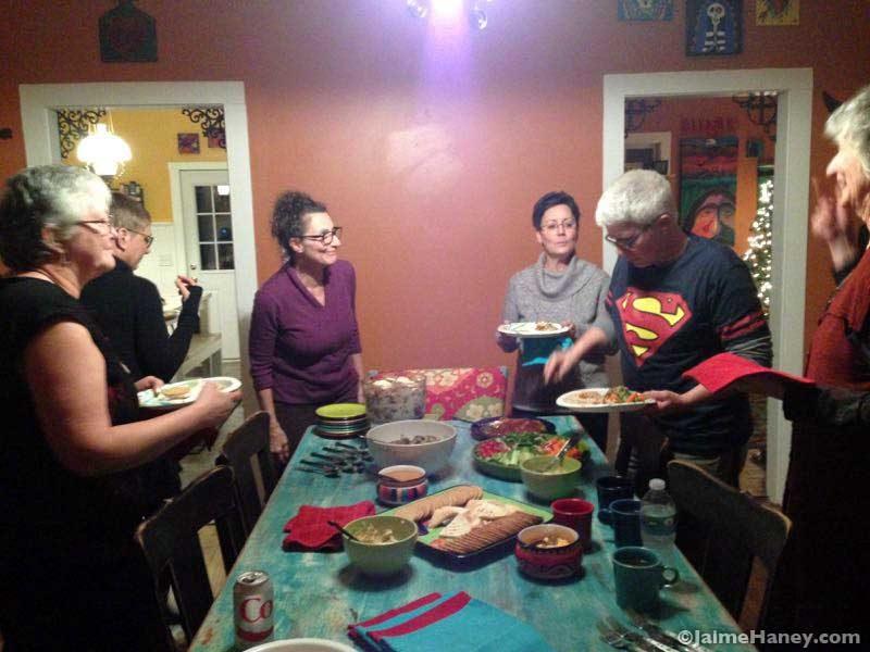 Winter Solstice Celebration Feast!