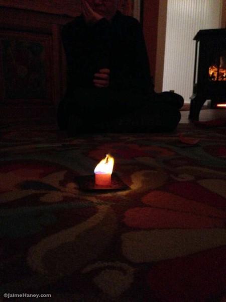wish paper burning