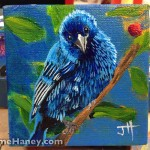 painted indigo bunting