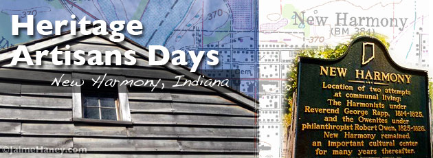 Heritage Artisans Days in New Harmony Indiana