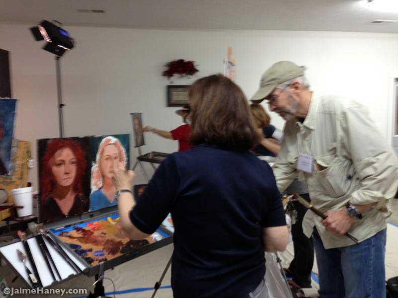 Scott Burdick Portrait Painting Workshop