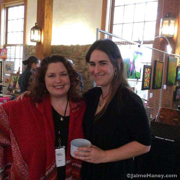 Jaime-Haney-and-Sara-Rappee-at-Christmas-in-New-Harmony_4439