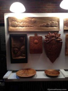 Ben Anselment's wood carvings