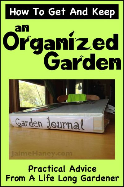 How to get and keep an organized garden