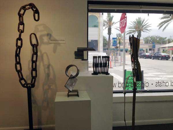 sculptures by Frederick Goldstein