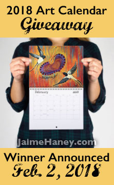 Art Calendar Giveaway