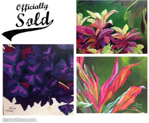 sold tropical paintings
