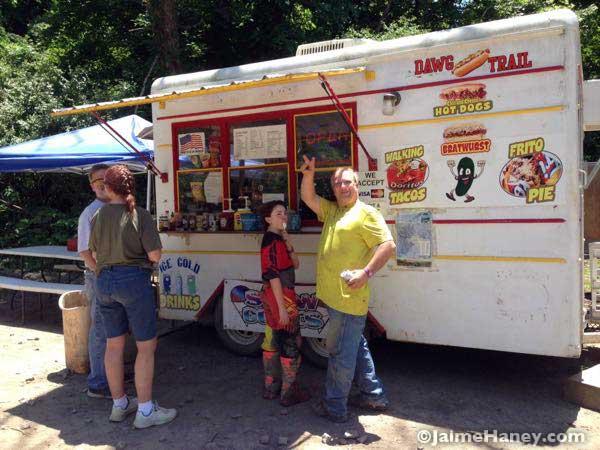 Dawg Trail Hot Dog Stand